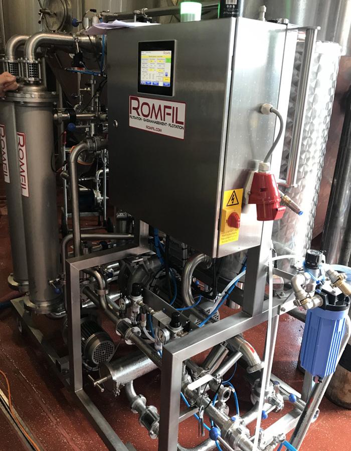 romfil crossflow filtration