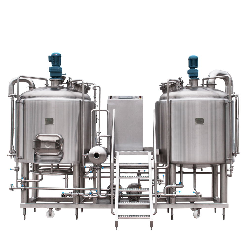 (2) two vessel brewhouse