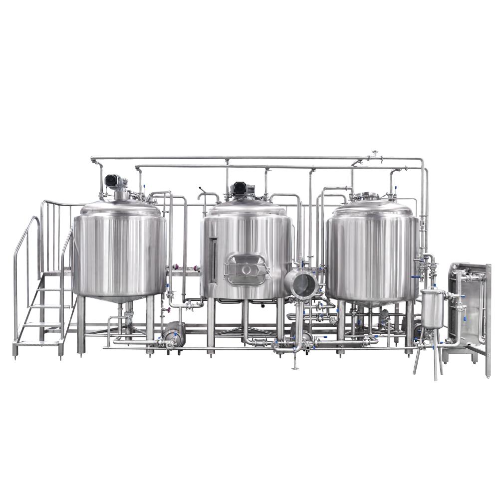 three vessel brewhouse