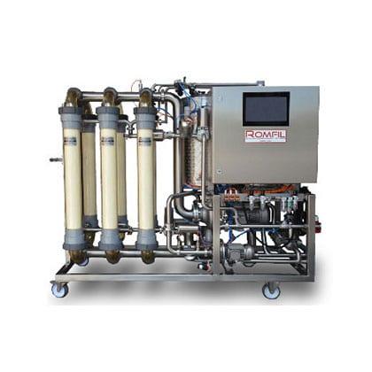 kombucha cross flow filtration